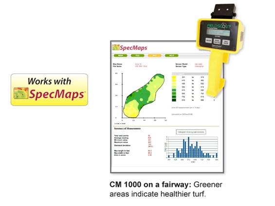 Fieldscout Cm 1000 Chlorophyll Meter Spectrum Technologies