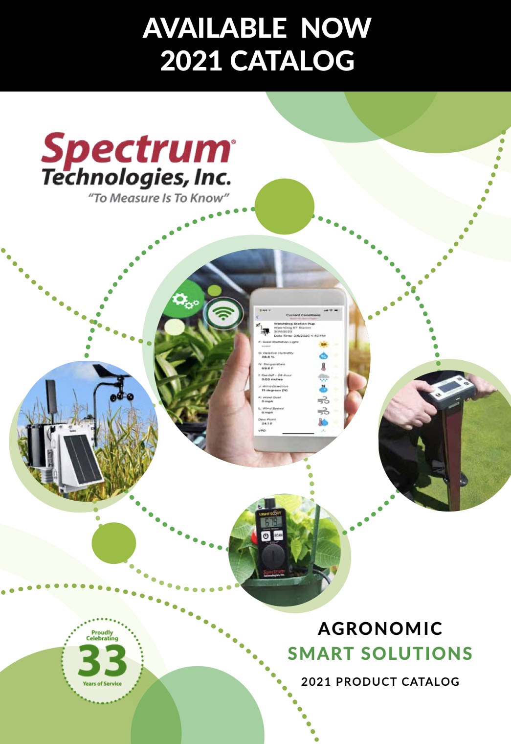 Request a Spectrum Technologies Product Catalog
