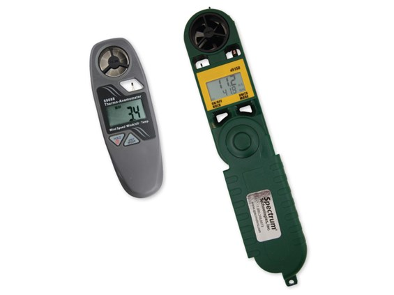 digital wind meters