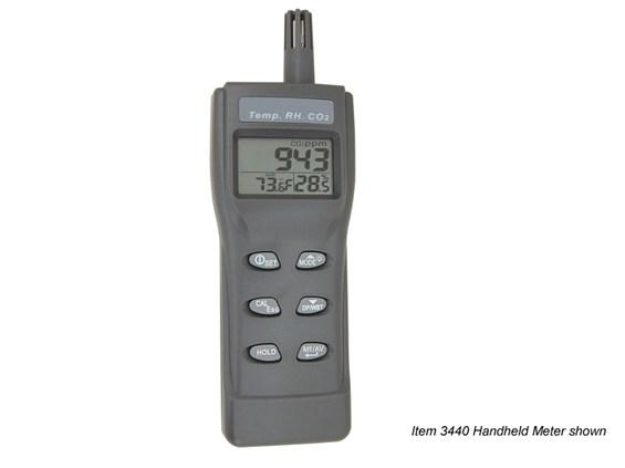 Hand Held Electrical Meters : Temp rh co meters spectrum technologies