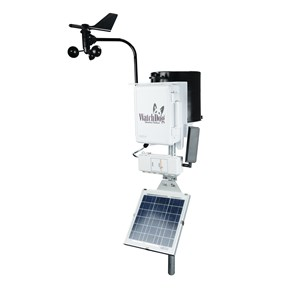 solar panel weather station application