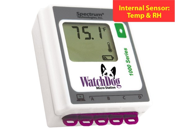 watchdog 1000 series data logger