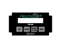 FieldScout TDR 300 Replacement Labels - Single