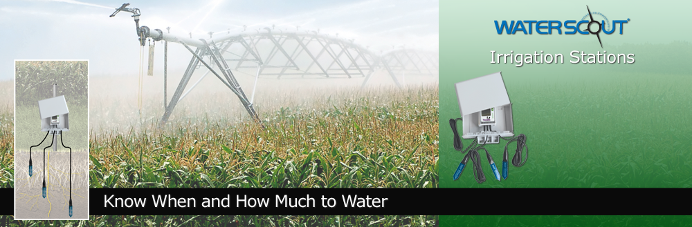 WatchDog Irrigation Stations - Know when and how much to water