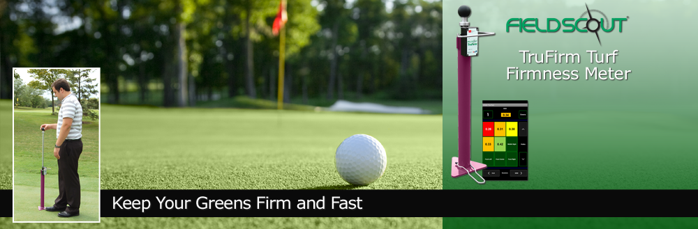 FieldScout TruFirm Turf Firmness Meter - keep your greens firm and fast