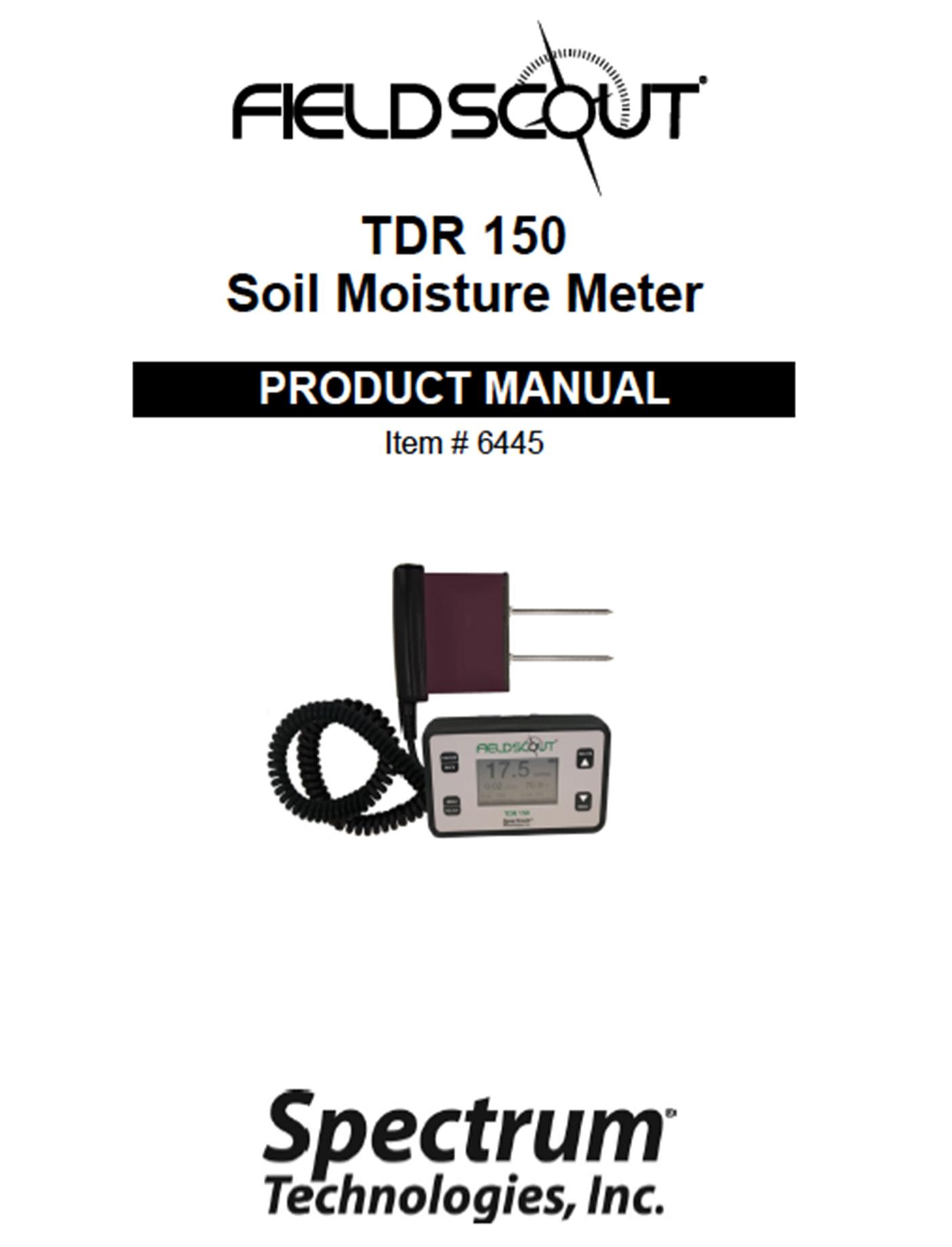 Catalog Cover Tdr150
